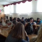 Spotkanie uczniów z radcą prawnym Michałem Gruchaczem