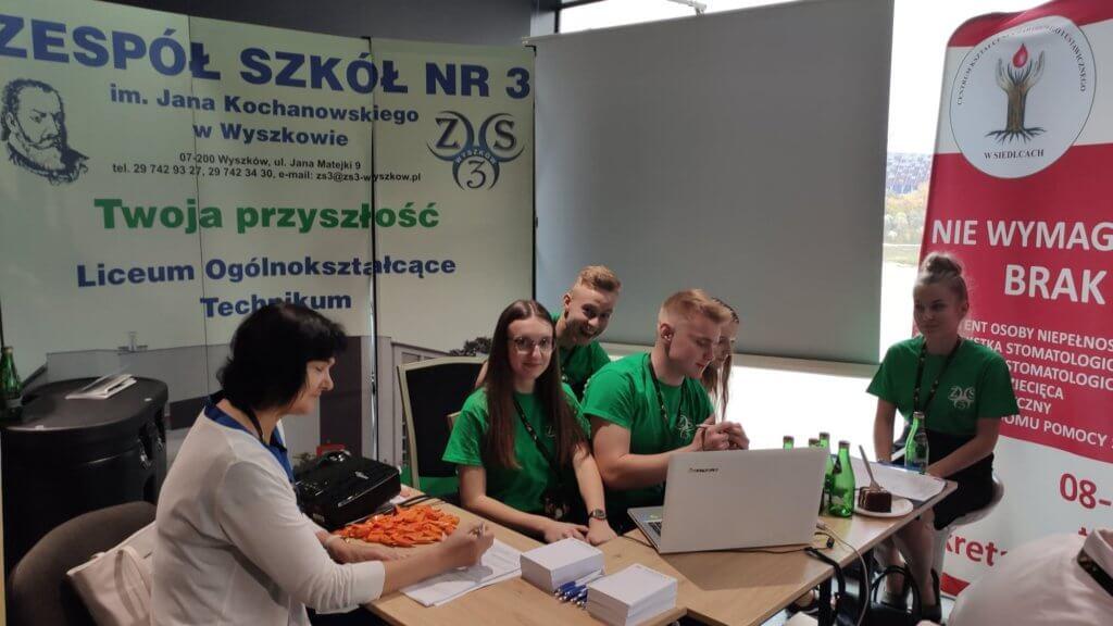 Uczniowie Zespołu Szkół Nr3 na 10. Forum Rozwoju Mazowsza w Warszawie