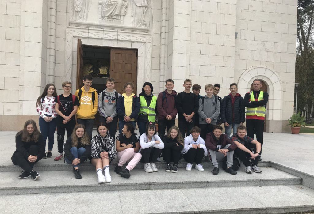 Integracyjna wycieczka rowerowa uczniów z 1TP/TR