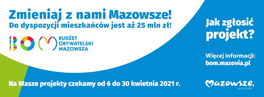 akcja BOM zmieniaj z nami Mazowsze - link do strony